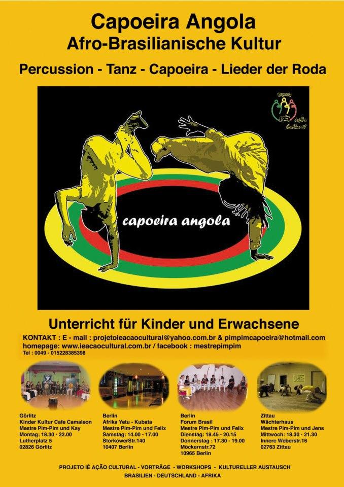 Flyer Capoeira Angola