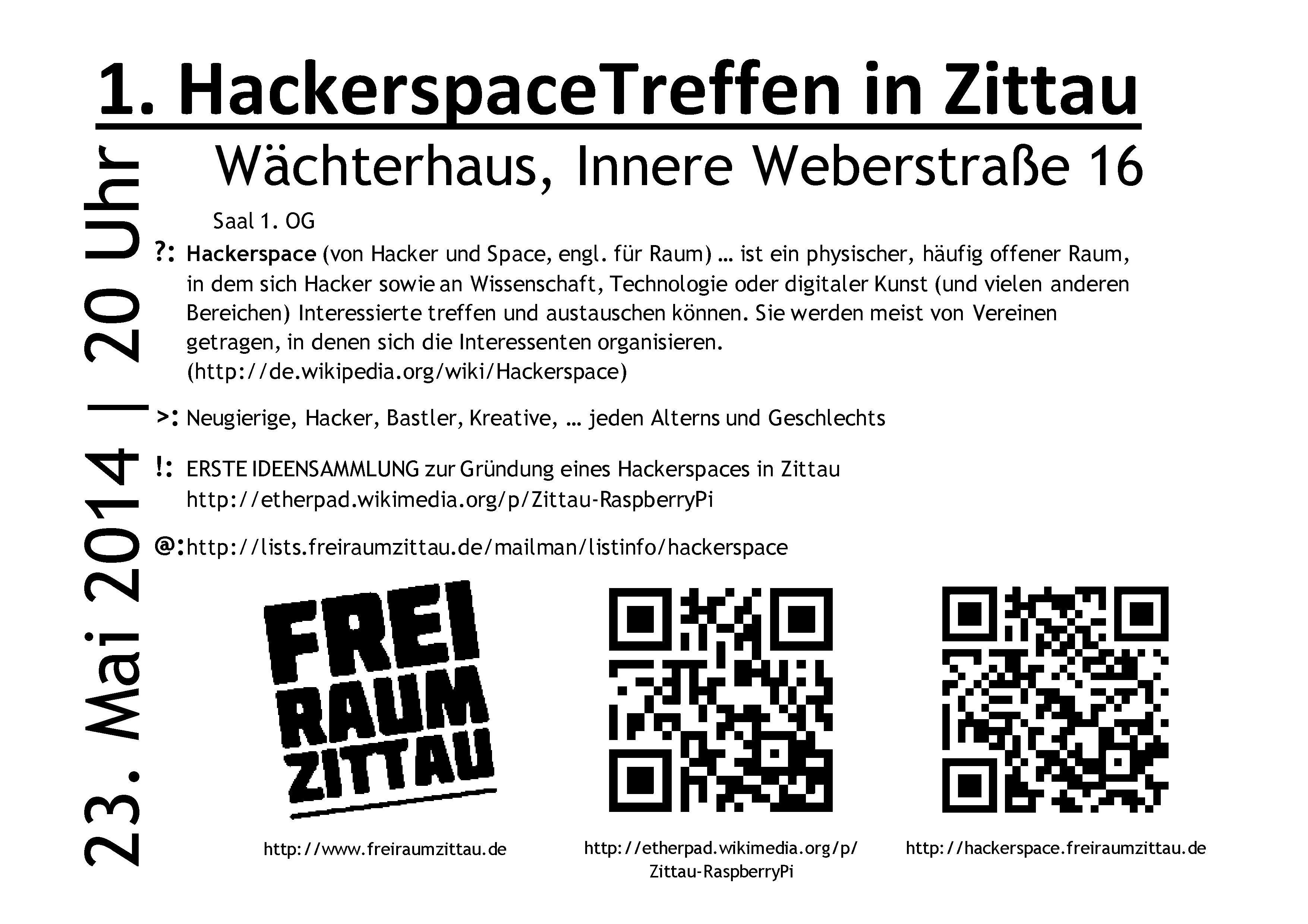 HackerspaceTreffen 1