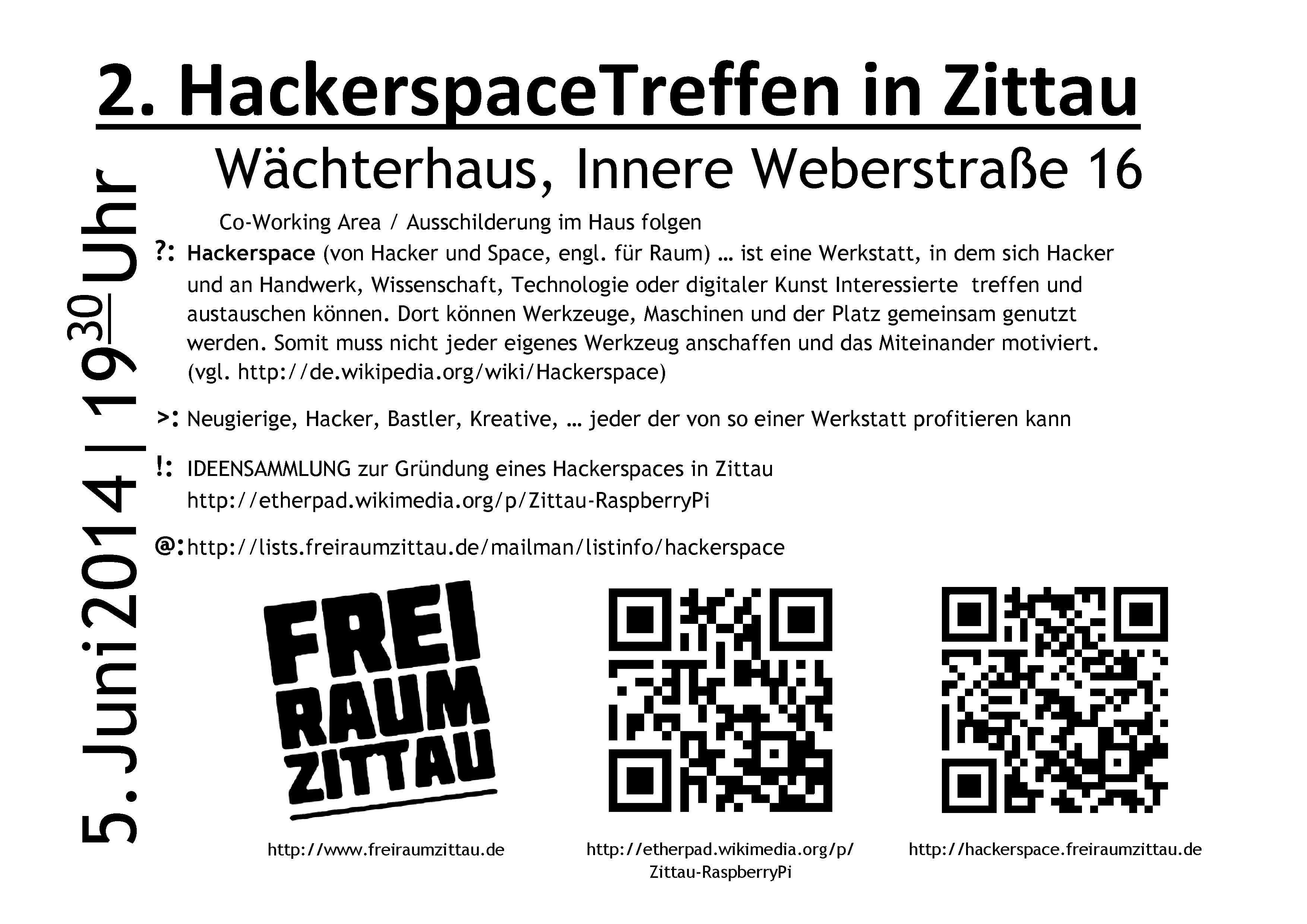 Hackerspace treffen Nr. 2
